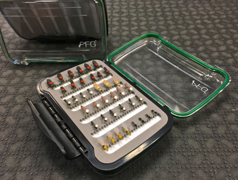 PFG - Professional Fishing Gear - Waterproof Fly Box.