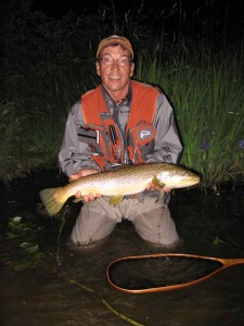 Brian's Night Time Grand River Brown Trout