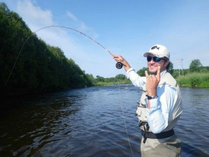 Luke Bryant Guide on the Grand River AA