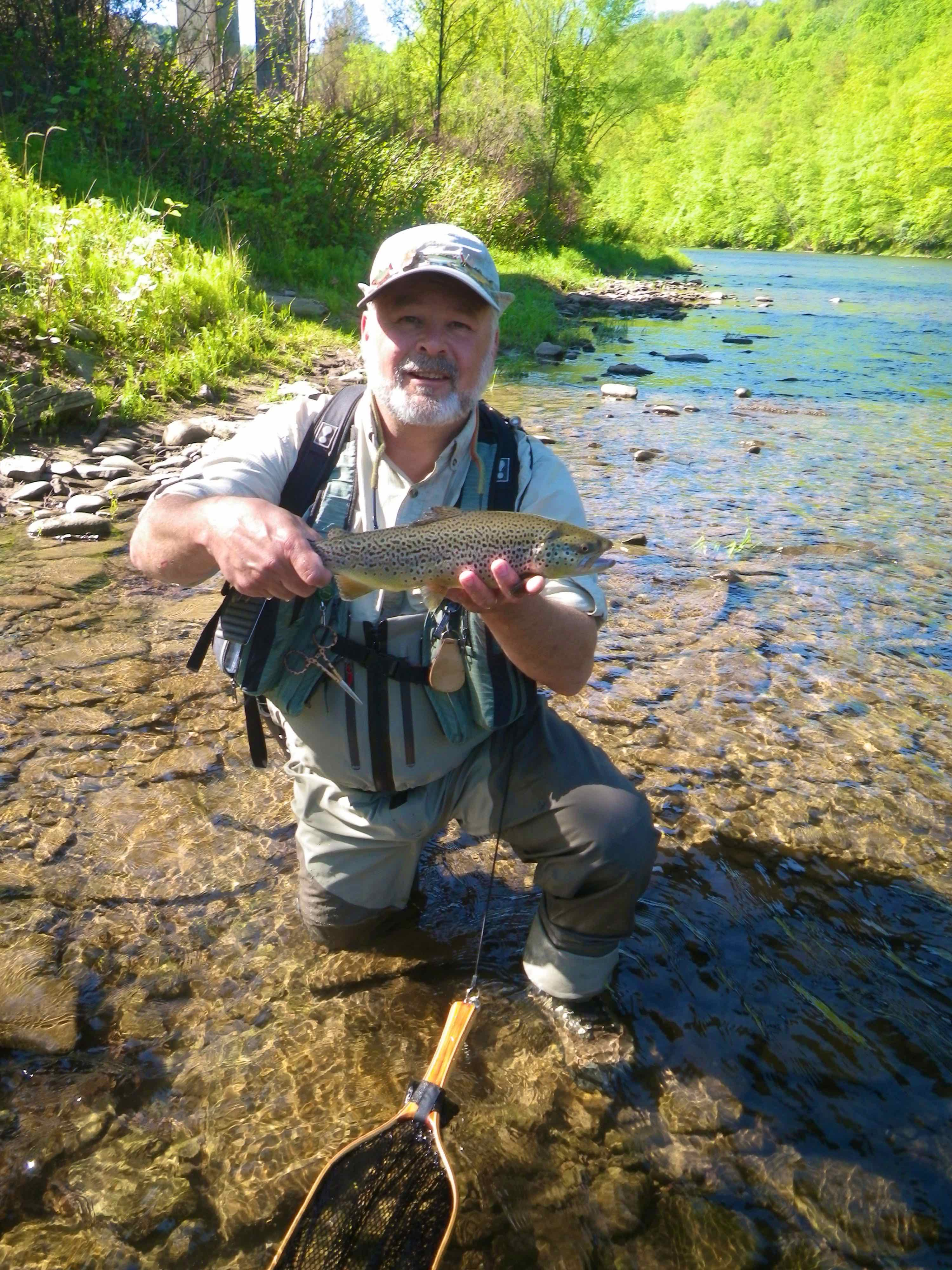 Ted shand for Grand river fishing
