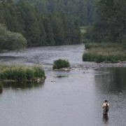 The Grand River -Fly Fishing at 2nd Line