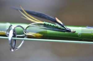 Atlantic Salmon Fly Waiting to be Fished ...