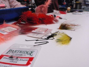 Fly Tying Intruders with Partridge Waddington Shanks.