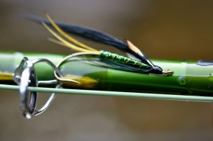 G. Loomis Fly Rod and Atlantic Salmon Fly