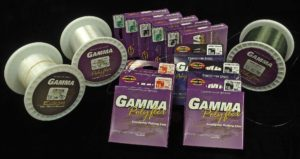 The GAMMA Copolymer Fishing Line, Tippet Material & Tapered Leaders.