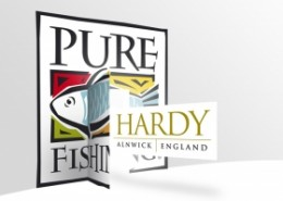 Hardy Greys Pure Fishing Logo