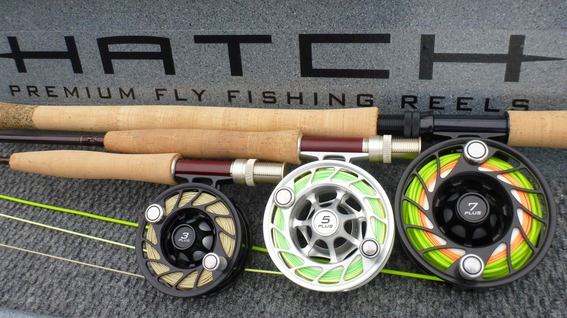 hatch saltwater fly lines - the first cast - hook, line and, Fishing Reels