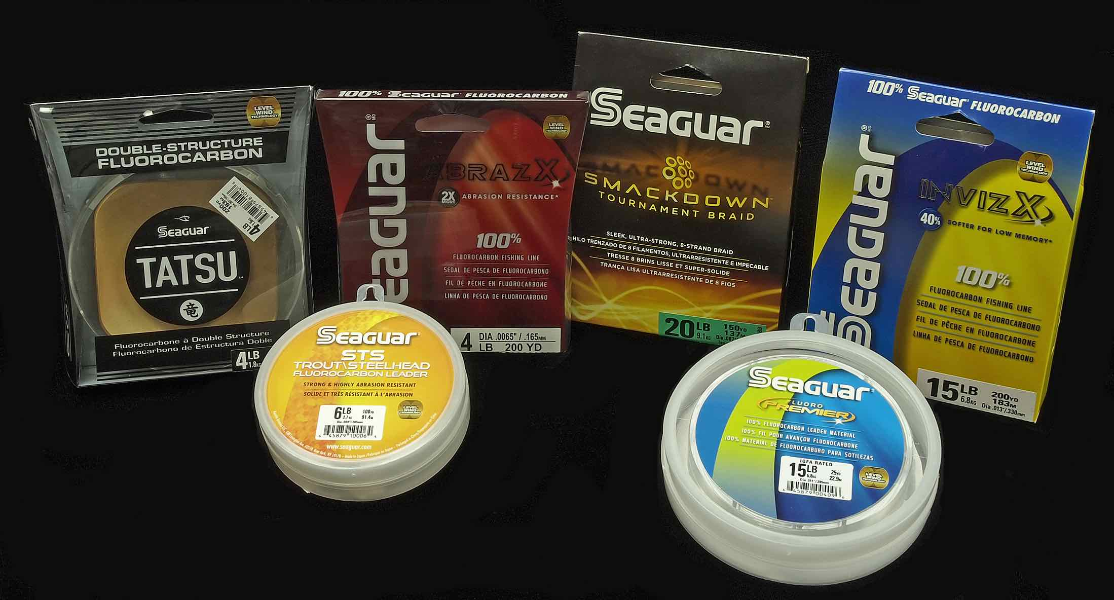 Seaguar monofilament fluorocarbon tapered leaders and for Seaguar fishing line
