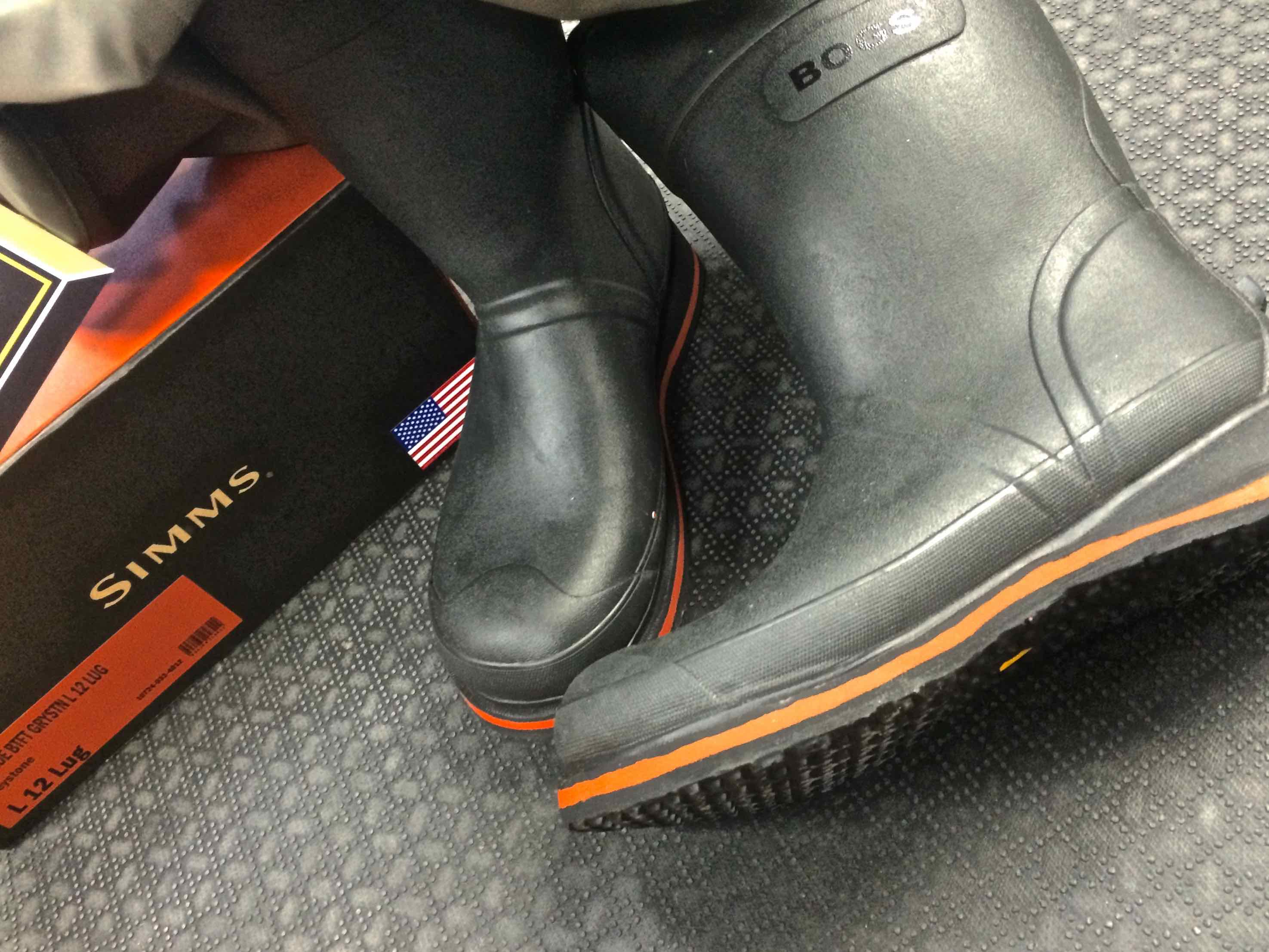 Simms G3 Guide Bogs Bootfoot Waders The First Cast