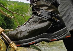 Simms G3 Boots and Orvis Fly Rod and Reel Combo AAAA