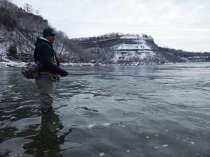 Steelhead Tournament Spey Casting Niagara River 2014 Resized for Web