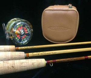 Tobias Martin Custom Bamboo Rods and Willow Fly Reel AA