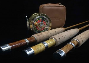 Tobias Martin Custom Bamboo Rods and Willow Fly Reel BB