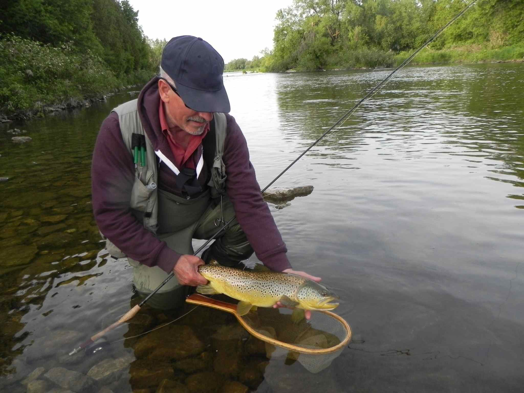 The grand river ontario for Fly in fishing ontario