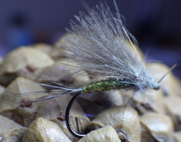 Euro Olive Dry Fly
