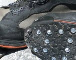 wading boots and studs