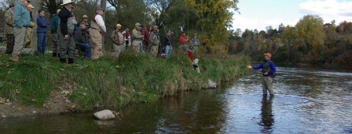 Grand river spey clave the first cast hook line and for Grand river fishing