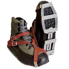 Patagonia River Crampons - Attached