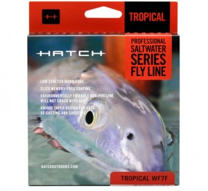 Hatch Tropical WF7F Fly Line