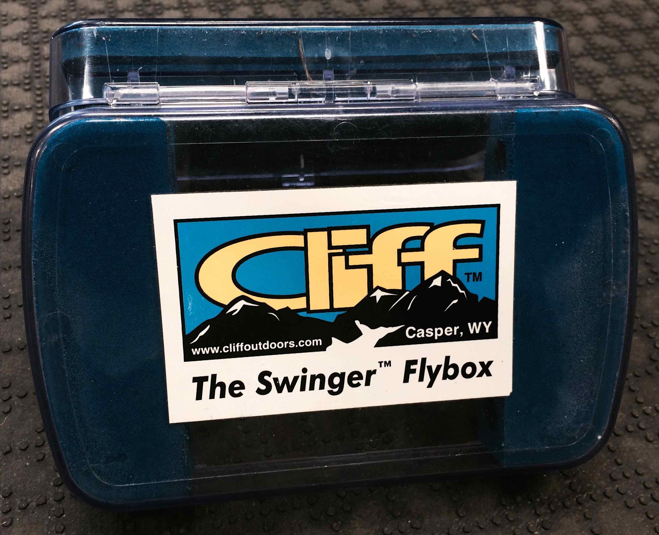 Cliff Swinger Fly Box AA