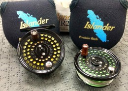 Islander IR2 cw Spare Spool and Fly Lines CC