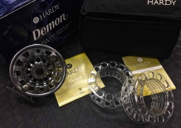 Hardy Demon 7000 cw 3 Spools Cassettes BB