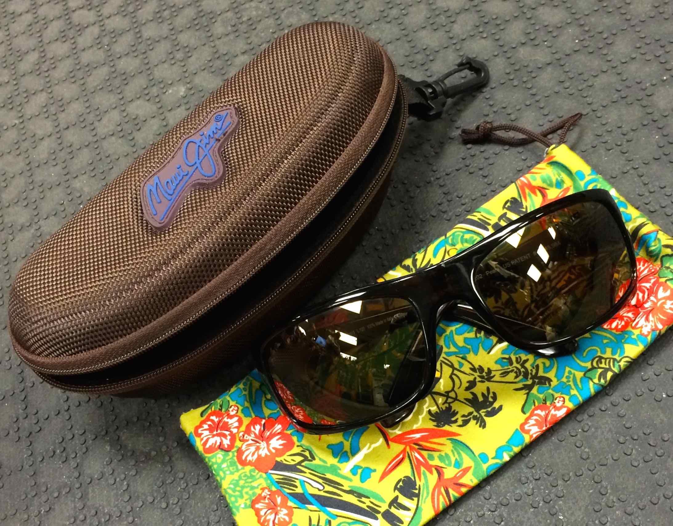 Sold maui jim peahi polarized sunglasses like new for Fly fishing maui