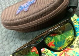 Maui Jim Polarized Sunglasses Seawall Maui HT Lenses AA