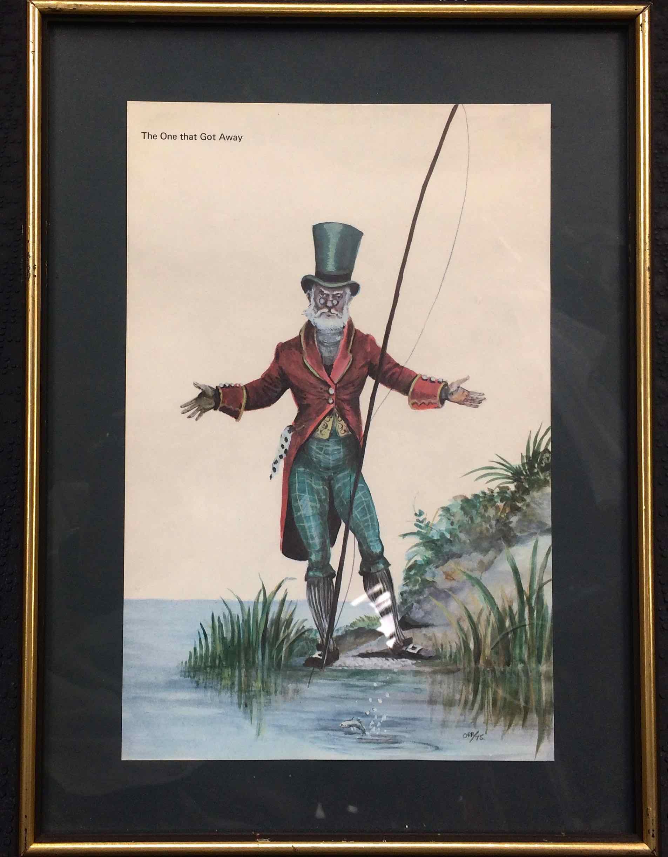 SOLD! - Scotland's Norman Orr Fishing Prints