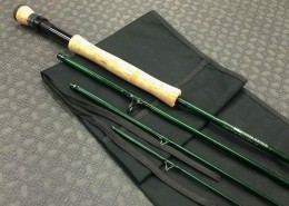 Orvis TLS Power Matrix Mid Flex 75 9foot 8wt 4 piece Rod CC