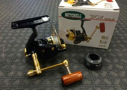 Mitchell 310X Gold Spinning Reel with Spare Spool AA