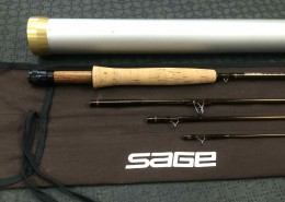 Sage Graphite III 590-4 - 9' 5wt 4pc Fly Rod - Great Shape ! - $200