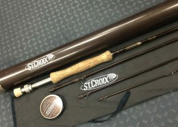 St Croix Legend Elite E9084 9foot 8weight 4 piece Fly Rod BB