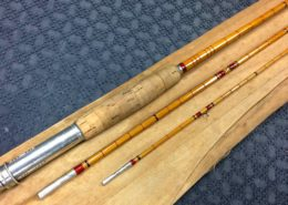Abercrombie Fitch 9' 6/7wt 3 piece Bamboo Fly Rod - Great Condition - $290