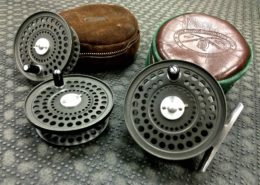 Orvis CFO III Fly Reel - Made in England - C/W 2 Spare Spools - Good Shape - $280