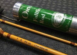 Orvis FullFlex Fly Rod 7 foot 6wt Fiberglass Comes with Aluminum Tube BBB