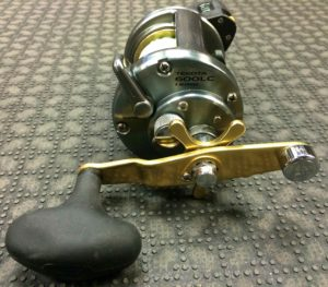 Shimano Tekota 600LC Line Counter Downrigging Reel - Like New!