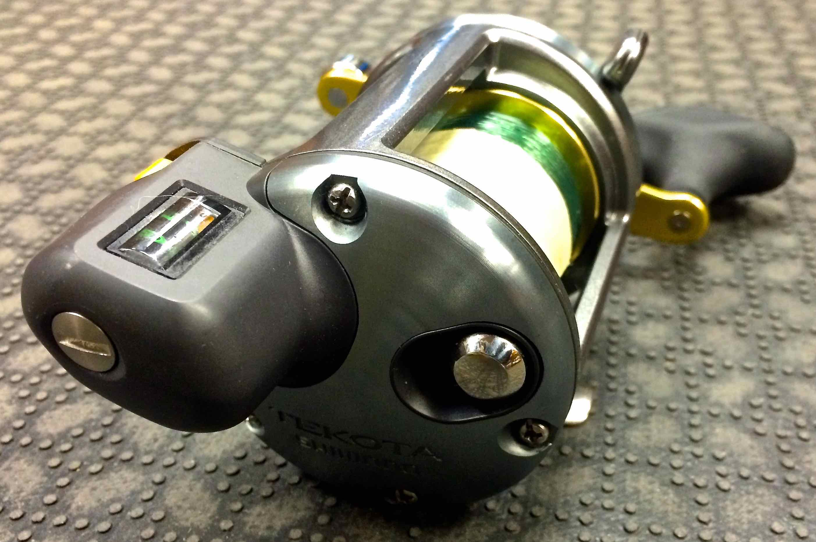 Sold Shimano Tekota 600lc Line Counter Downrigging Reel