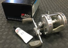 Abu Garcia Ambassadeur High Profile Baitcasting Reel - 5500C3 - Great Shape! - $50
