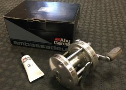 Abu Garcia Ambassadeur High Profile Baitcasting Reel - 5501C3 - Great Shape! - $50