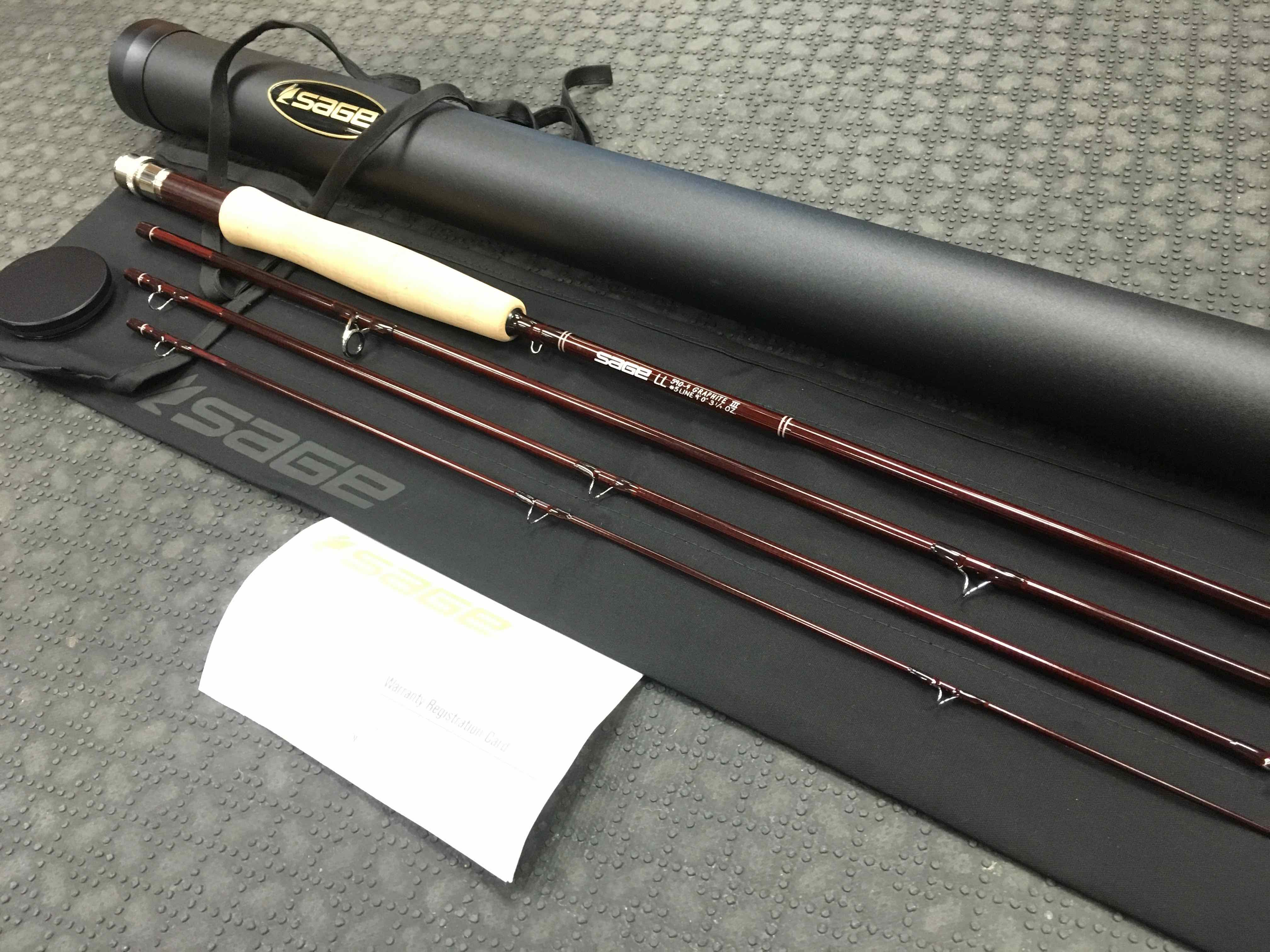 Sold Sage Ll 590 4 Graphite Iii Fly Rod 3 1 4oz 9