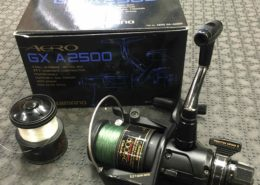 Shimano Aero GX A2500R Spinning Reel with Spare Spool AA