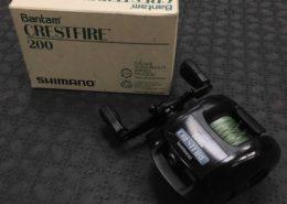 Shimano - Bantam Crestfire 200 Baitcaster - $25