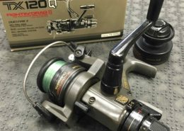 Shimano - TX120Q Spinning Reel c/w Spare Spool - $25