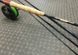 6wt 4pc Fly Rod & Reel Combo - St. Croix Reign R906.4 and Echo Solo Fly Reel c/w Airflo WF6F Fly Line - $100
