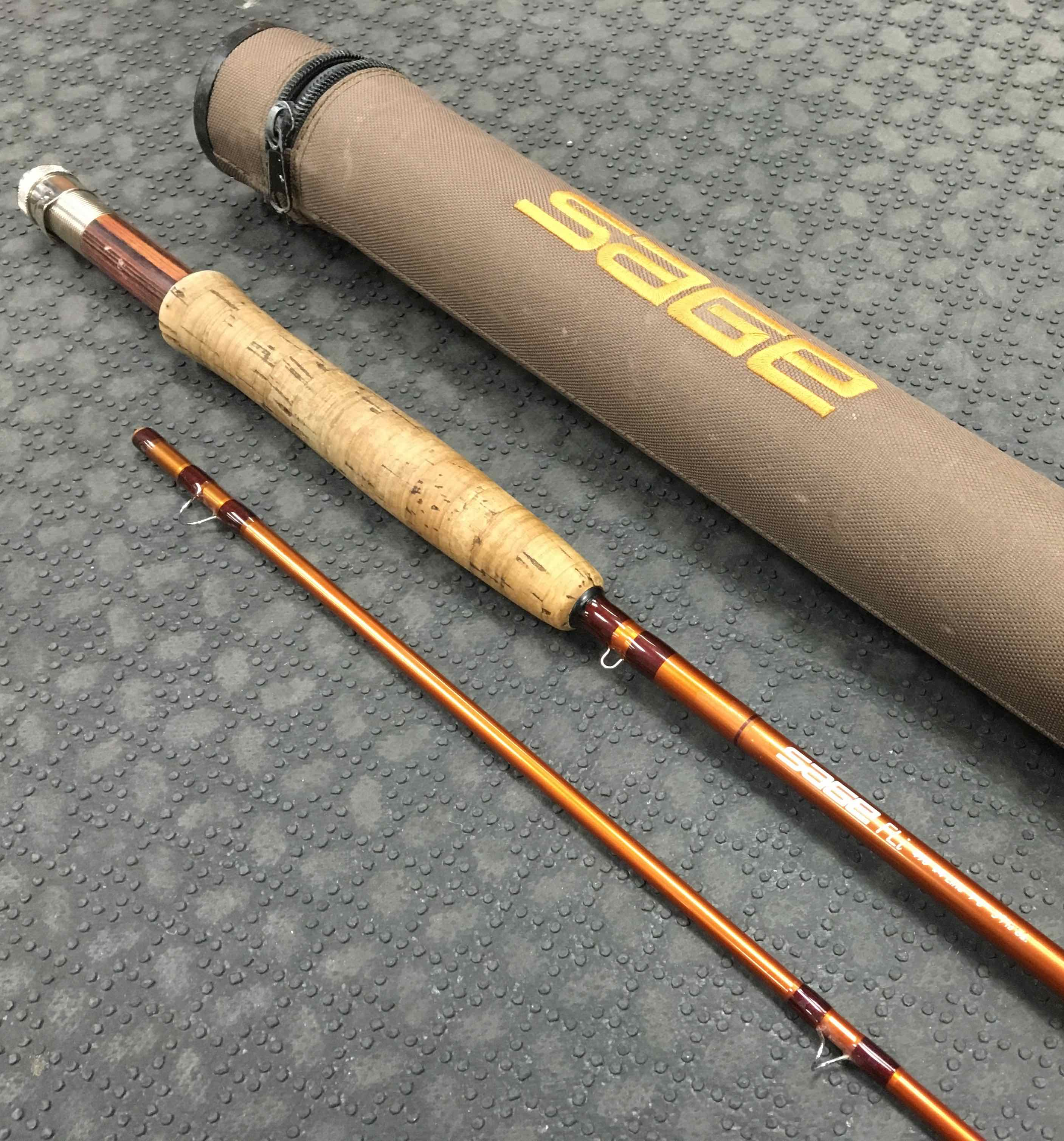 Sold sage fly rod fli 490 2 9 39 4wt 100 the for Sage fly fish