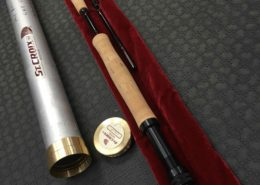St. Croix Fly Rod - LF9012 c/w Aluminum Tube - $100 - Like New!