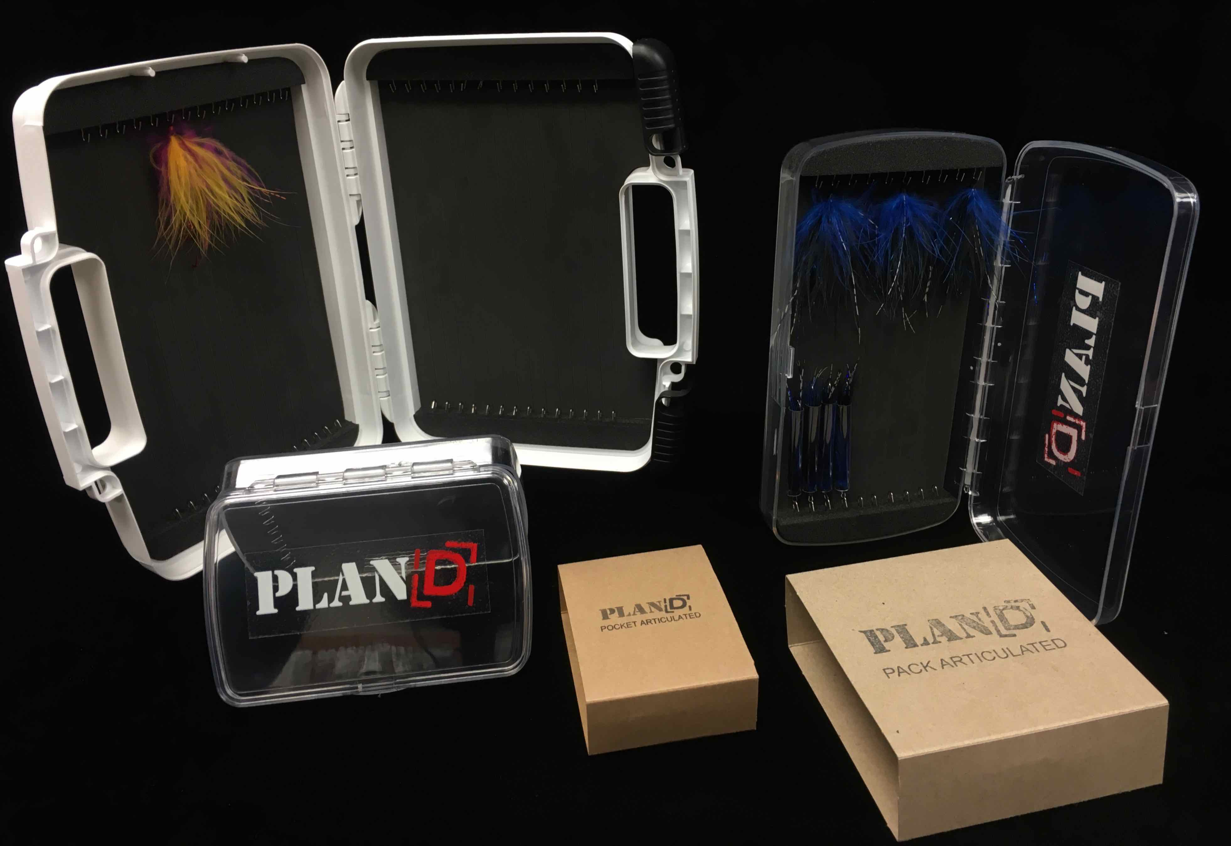 Plan d fly fishing solutions fly fishing boxes for Fly fishing box