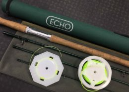 Echo 6126 4X 6/7 Spey Rod c/w 420grain Airflo Skagit Head & Ridge Running Line - $200