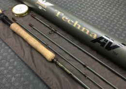 Fenwick Techna AV 9' 8wt 4piece Fly Rod - GREAT SHAPE! - $150